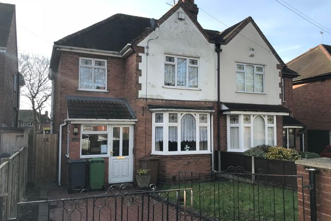 Thumbnail Semi-detached house to rent in Bentley New Drive, Walsall