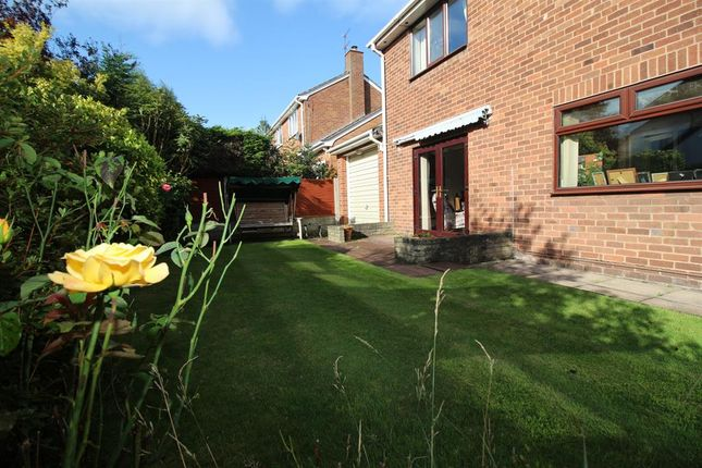 Garden of Maple Tree Grove, Heswall, Wirral CH60