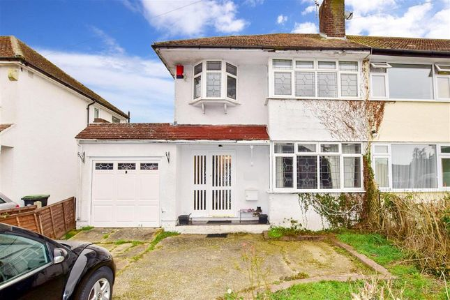 3 bed semi-detached house for sale in Weald Hall Lane, Thornwood, Epping, Essex CM16