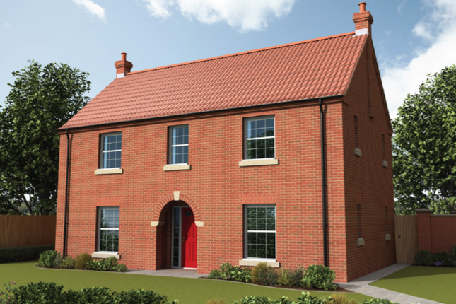 Thumbnail Detached house for sale in The Burrelton, Curtis Drive, Coningsby, Lincolnshire