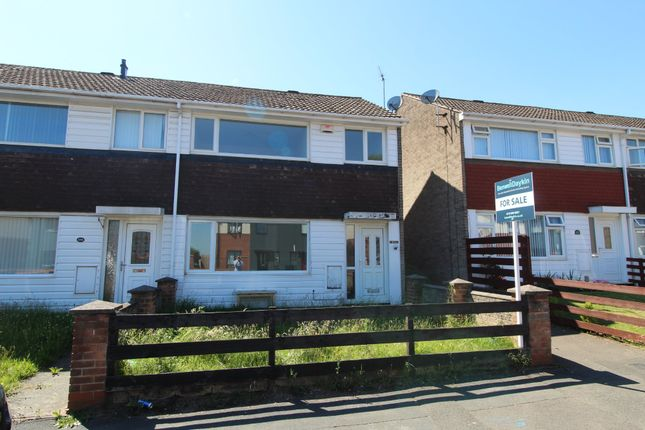Thumbnail End terrace house for sale in Cranwell Road, Strelley, Nottingham