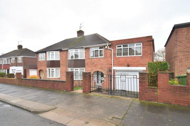 Thumbnail Semi-detached house for sale in Killingworth Drive, High Barnes, Sunderland