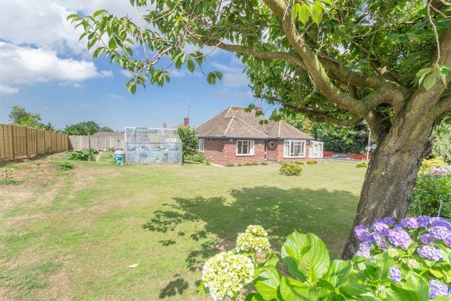 Thumbnail Detached bungalow for sale in Norwich Road, Fakenham