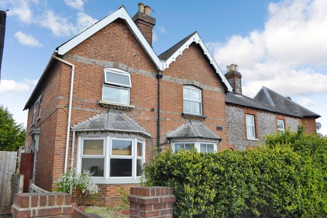 Thumbnail Semi-detached house for sale in Greenham Road, Newbury