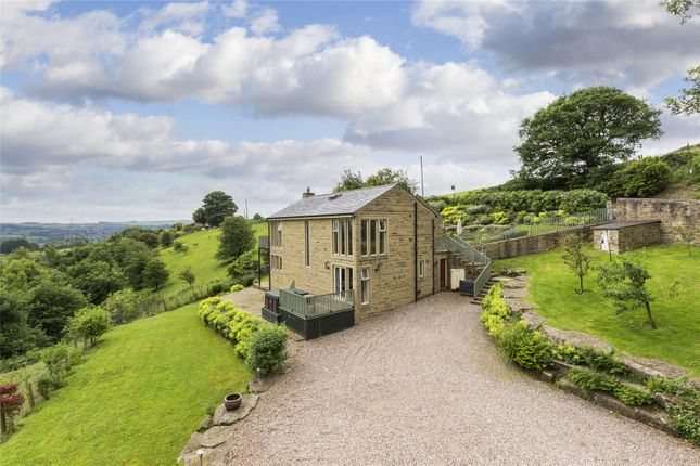 Thumbnail Detached house for sale in Woodhead, Ryecroft, Harden, West Yorkshire