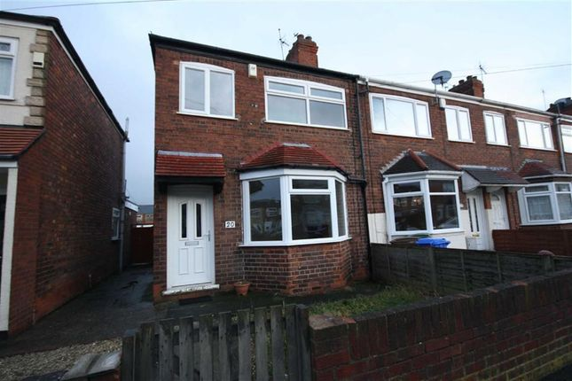 Thumbnail Terraced house to rent in Seagran Avenue, Hessle