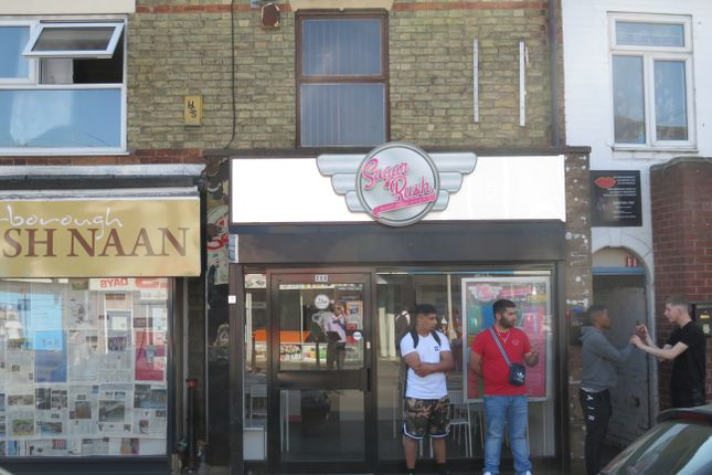 Thumbnail Retail premises for sale in Lincoln Road, Peterborough