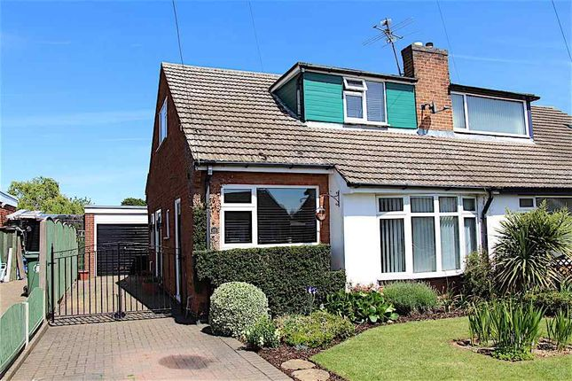 Thumbnail Semi-detached house to rent in Belvoir Gardens, Great Gonerby, Grantham