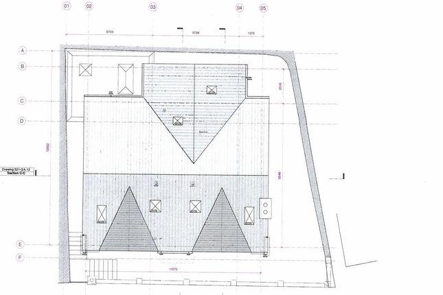 Roof Plan of Polkirt Hill, Mevagissey, St. Austell PL26