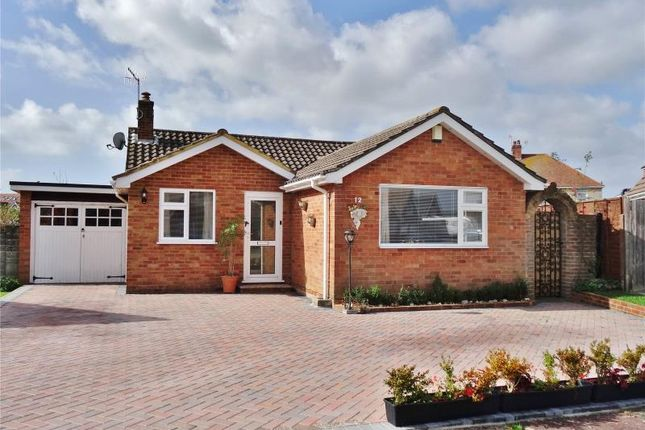 Thumbnail Detached bungalow for sale in Alfriston Close, Tarring, Worthing