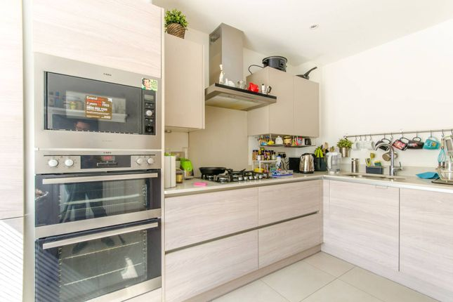 Terraced house for sale in Henry Darlot Drive NW7, Mill Hill East, London,