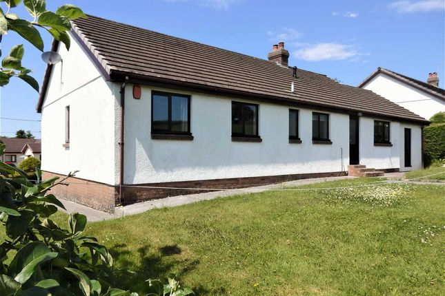 Thumbnail Detached bungalow for sale in Glanrhyd, Porthyrhyd, Carmarthen