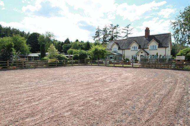 Thumbnail Farmhouse for sale in Hanchurch, Stoke-On-Trent