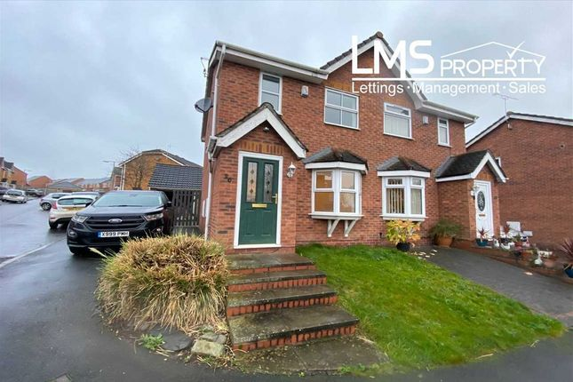 2 bed semi-detached house to rent in Coningsby Drive, Winsford CW7