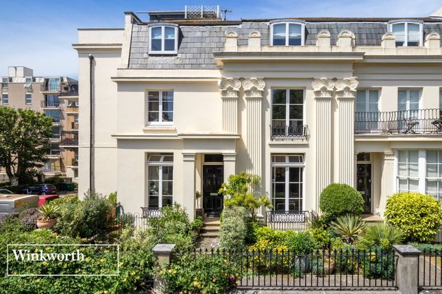 Thumbnail End terrace house for sale in Western Terrace, Brighton, East Sussex