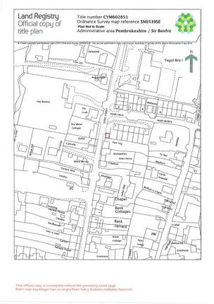 Jpeg Plan of Long Street, Newport SA42