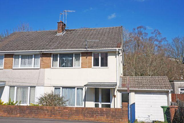 Thumbnail Semi-detached house for sale in Penallta Road, Ystrad Mynach, Hengoed