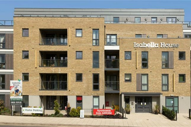 Thumbnail Flat for sale in Hale Road, Hertford, Hertfordshire