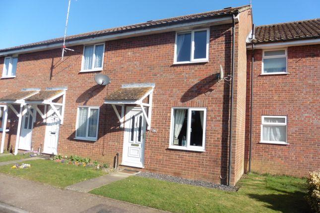 Thumbnail Terraced house for sale in Eckersley Drive, Fakenham