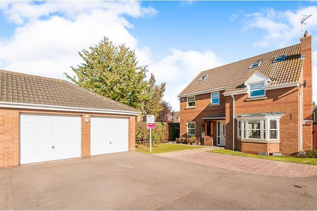 Thumbnail Detached house to rent in Alvis Drive, Yaxley, Peterborough