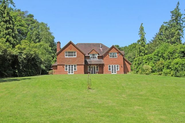 Thumbnail Detached house for sale in Church Lane, Awbridge, Romsey