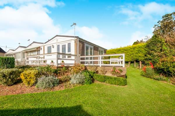 Thumbnail Terraced bungalow for sale in 50 Galmpton Holiday Bungalows, Greenway Road, Galmpton Brixham