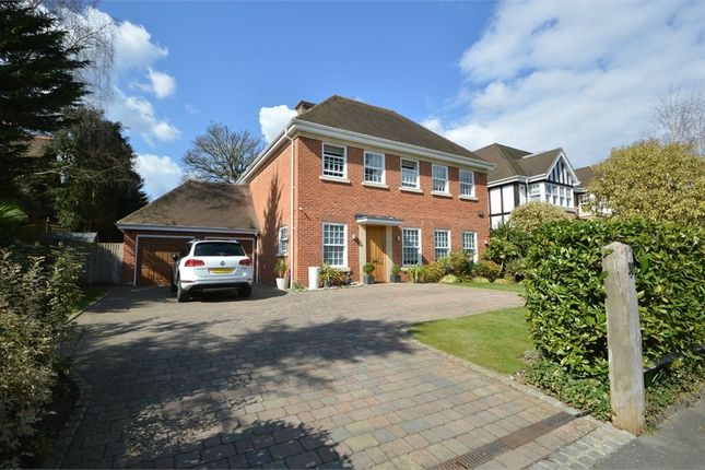 Thumbnail Detached house to rent in Burwood Park Road, Hersham, Walton-On-Thames, Surrey