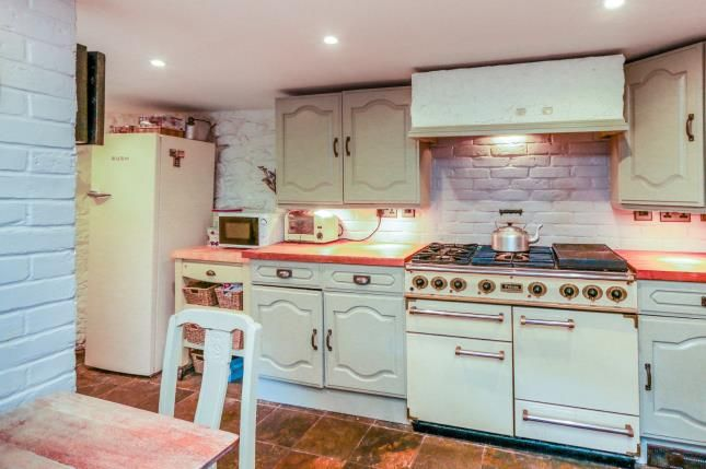 Kitchen of Bell End, Wollaston, Northamptonshire, England NN29