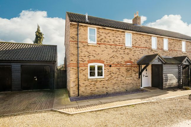 Thumbnail Semi-detached house for sale in Bellevue Close, Somersham, Huntingdon