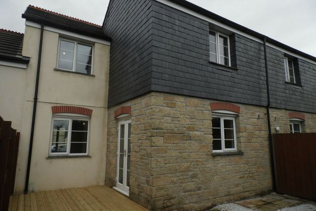 Thumbnail Terraced house to rent in Helena Court, Penwithick, St Austell, Cornwall