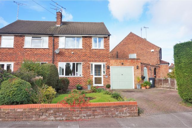 Thumbnail Semi-detached house for sale in Mayswood Road, Solihull