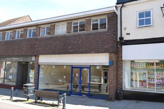Thumbnail Retail premises for sale in 48 Royston, Hertfordshire
