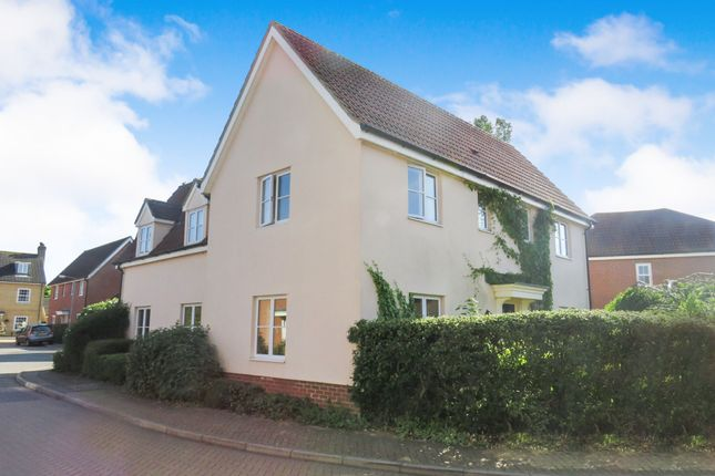 Thumbnail Detached house for sale in Jermyn Way, Tharston, Norwich