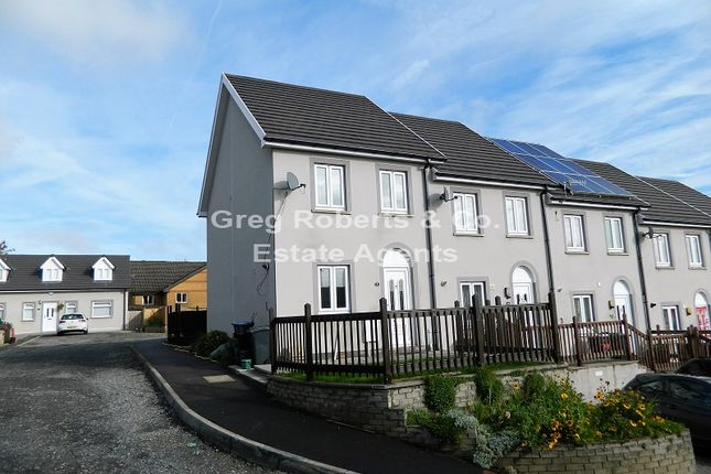 Thumbnail End terrace house for sale in Prince Llewellyn Court, Tredegar, Blaenau Gwent.