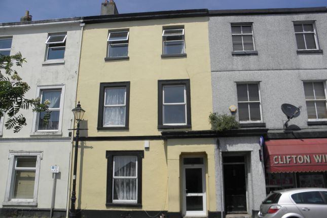 Thumbnail Terraced house for sale in Clifton Place, Greenbank, Plymouth
