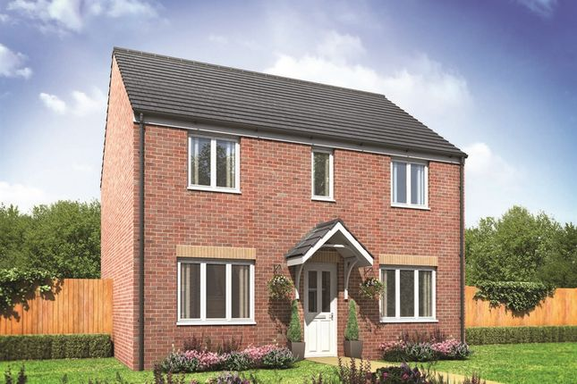 "Thumbnail Detached house for sale in ""The Chedworth"" at Oakdale, Blackwood"