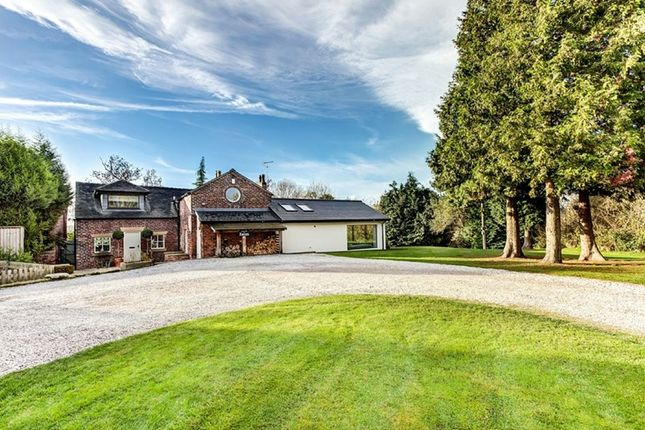 Thumbnail Detached house for sale in Giantswood Lane, Hulme Walfield, Congleton