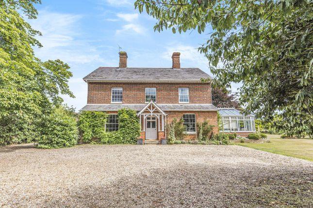 Thumbnail Detached house for sale in Grazeley Green Road, Grazeley, Reading