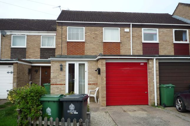 Thumbnail Terraced house to rent in Fieldcourt Gardens, Quedgeley
