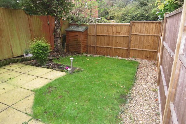 Garden of Fox Pond Lane, Oadby, Leicester LE2