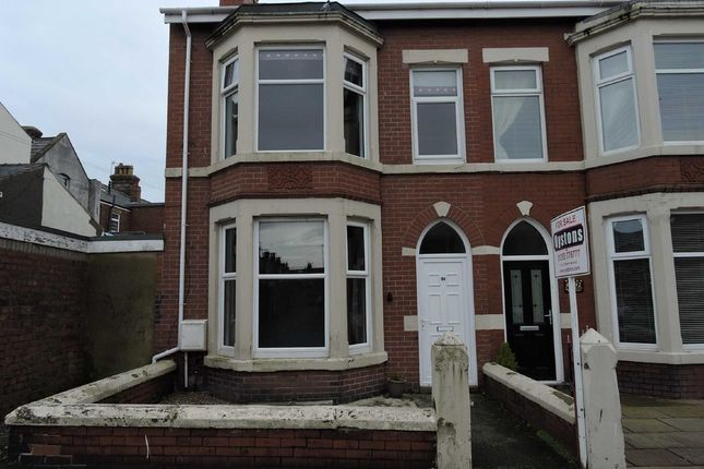 Thumbnail End terrace house for sale in Milton Street, Fleetwood