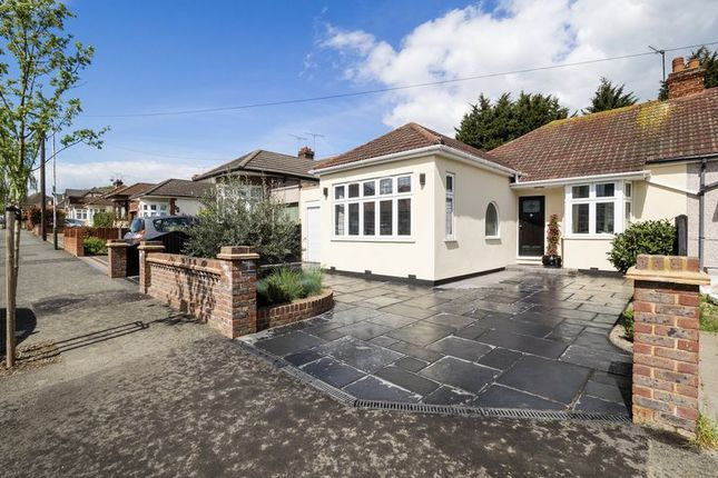 Thumbnail Semi-detached bungalow for sale in Minster Way, Hornchurch
