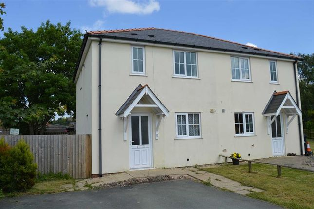 Thumbnail Semi-detached house to rent in 12, Plantation Close, Plantation Lane, Newtown, Powys