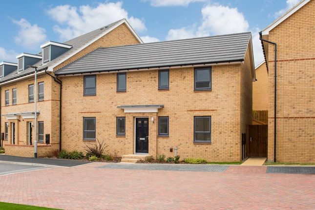 "Thumbnail End terrace house for sale in ""Enford"" at Southern Cross, Wixams, Bedford"