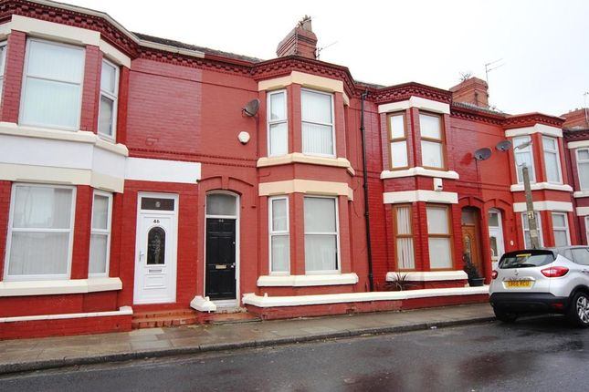 Thumbnail Terraced house to rent in Silverdale Road, Tuebrook, Liverpool, Merseyside