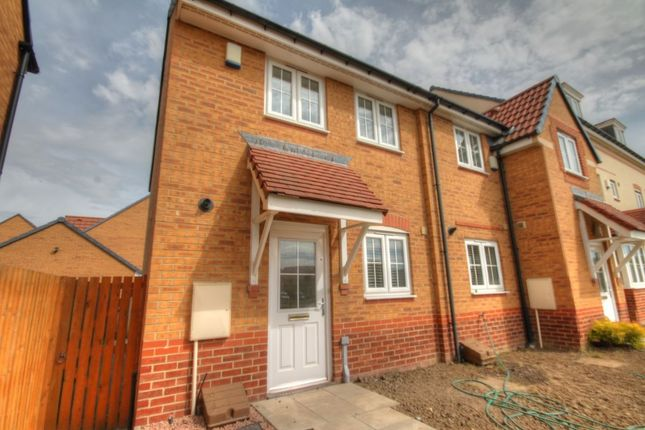 Thumbnail Terraced house to rent in Agar Close, Consett