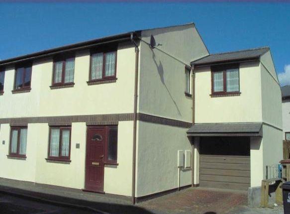 Thumbnail Semi-detached house to rent in Park Street, Ivybridge