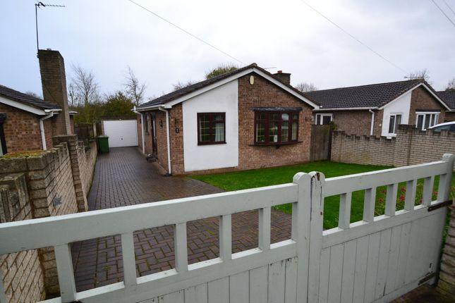 Thumbnail Detached bungalow to rent in Barnsdale Way, Upton, Upton, Pontefract