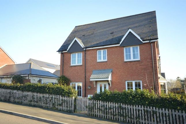 Thumbnail End terrace house for sale in Betjeman Close, Sidmouth, Devon