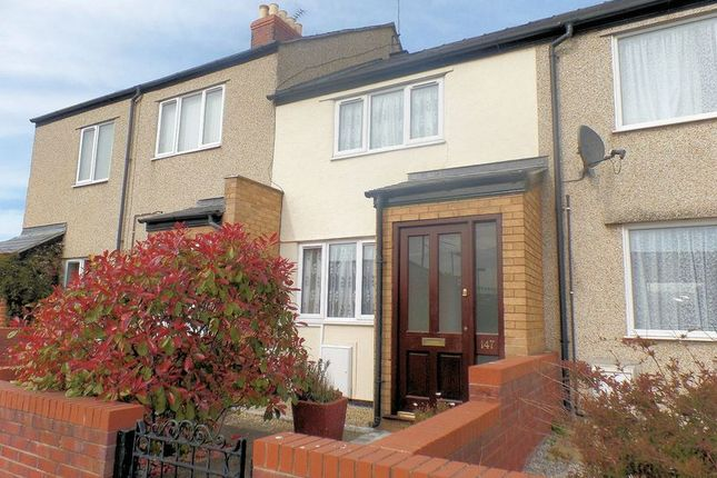 Thumbnail Terraced house to rent in Vale Road, Rhyl